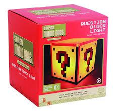 Zelda Triforce Lamp Uk by Amazon Com Paladone Super Mario Question Block Night Light Toys