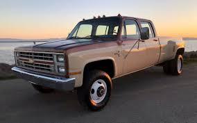 100 1986 Chevy Trucks For Sale Rare Crew Cab Dually K30 Silverado