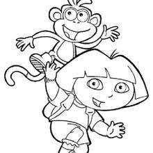 Full Size Of Coloring Pagesexquisite Dora The Explorer Pages Fancy
