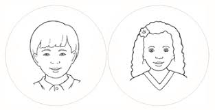 Father Face Coloring Pages Boys And Girls