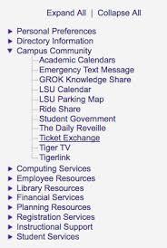Lsu Online Help Desk by Mylsu Portal Ticket Exchange Grok Knowledge Base