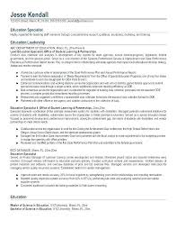 Examples Of Resume For Teachers Aide And New Teacher Sample Teaching Resumes Special Education