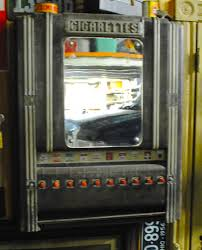 Cleaning Out An Apartment In Queens Old Cigarette Machine
