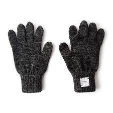 upstate stock wool u0026 deerskin gloves black bespoke post