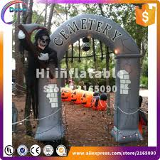 Halloween Inflatable Haunted House Archway by Online Buy Wholesale Halloween Inflatable Arch From China