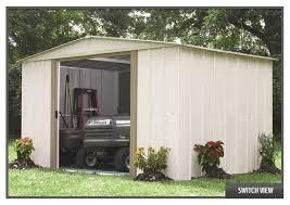 arrow galvanized steel storage shed 10x8 arrow salem shed sa108