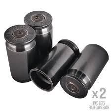 Amazon.com: OPG3 Real Bullet Valve Stem Caps Set Of 4 Custom Brass ...