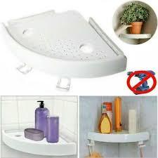 duschregal ecke aufbewahrung saugnapf wandregal badregal bad