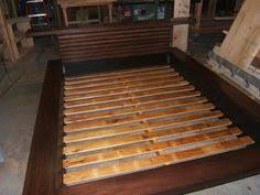 cheap easy low waste platform bed plans platform bed plans