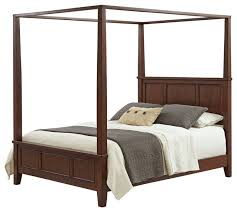 chesapeake queen canopy bed transitional canopy beds by home