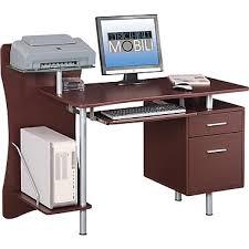 techni mobili computer desk brown rta 325 staples