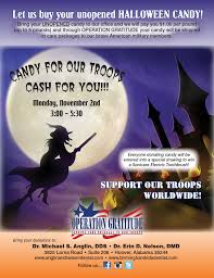 Operation Gratitude Halloween Candy Buy Back by Local Dentists Buying Back Halloween Candy To Support Troops