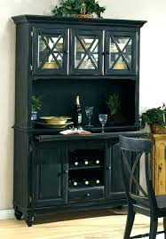 Wood Buffet Table Furniture Dining Room Black Intended For Server