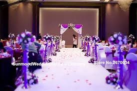 Wedding Church Decorations Stand Flower Stands Sliver Or Round Walkway For In Glow Party Supplies From Home Garden On
