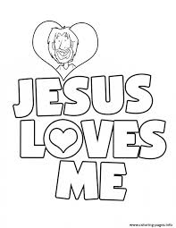 Full Size Of Coloring Pagecoloring Page Jesus Loves Me Printable Pages New Printables Large