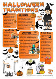 Halloween Brain Teasers Worksheets by 481 Free Esl Halloween Worksheets