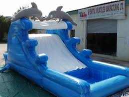 Inflatable Swimming Pool Slides For Inground Pools Three Beach