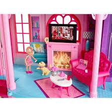 Barbie Living Room Set by Mattel Barbie 3 Story Dreamhouse Walmart Com
