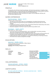 Resume Examples By Real People: Head Housekeeper Resume ... Housekeeping Resume Sample Monstercom Description For Of Duties Hospital Entry Level Hotel Housekeeper Genius Samples Examples Free Fresh Summary By Real People Head 78 Private Housekeeper Resume Sample Juliasrestaurantnjcom The 2019 Guide With 20 Example And Guide For Professional Housekeeping How To Make