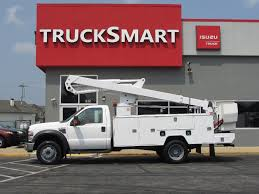 2008 FORD F550 SD BUCKET BOOM TRUCK FOR SALE #11061