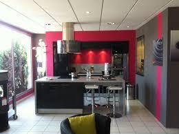 cuisine mur framboise mur cuisine couleur framboise cuisine idées de décoration de