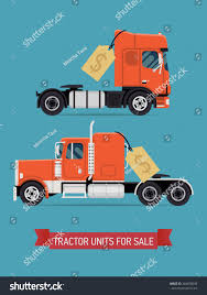 100 Heavy Trucks For Sale Tractor Units Semi Cool Stock Vector Royalty Free