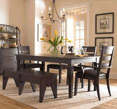 diy dining room table centerpieces dark brown varnished wooden