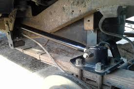 Rear Shackle Flip & Ant-Wrap Traction Bar Kit 1974-1991 Wagoneer ...
