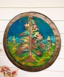 Love This Pine Tree Drum Lid Wall Art On Zulily Zulilyfinds