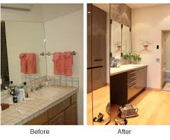 Small Bathroom Remodels Before And After by Tewes Design Before And After Interior Design Interior Designer