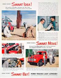 100 Ford Trucks Through The Years 1949 Ad George Failing Oil Drill Automobile Automotive