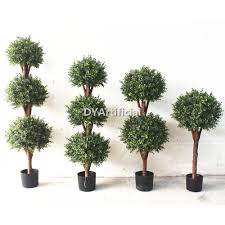 Outdoor Artificial Topiary Boxwood Ball Tree In Different Size Dongyi