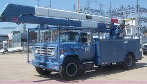 100 Bucket Trucks For Sale In Pa 1989 GMC TopKick Boom Bucket Truck Item C9367 SOLD Sept