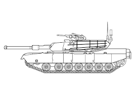 Army Car War Tank Coloring Pages PagesFull