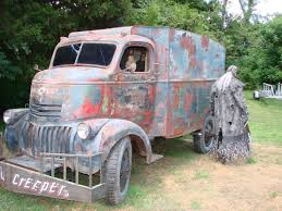 100 Truck From Jeepers Creepers A 1941 Chervolet Cabin Over Engine Torqued Up Super Tight