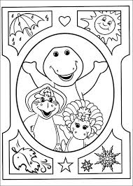 Barney And Friends Coloring Pages 18