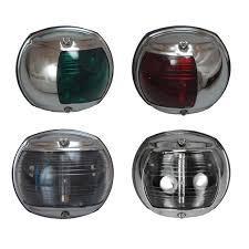 perko chrome casing navigation lights marine