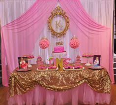 Pink And Gold Birthday Themes by Pink And Gold Birthday Party Ideas Gold Birthday Birthday Party