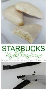 Pumpkin Scone Starbucks 2015 by Copycat Starbucks Vanilla Bean Scone