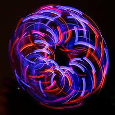 GloFX Team 6 LED Orbit Violet Storm Rave Orbital Light Show