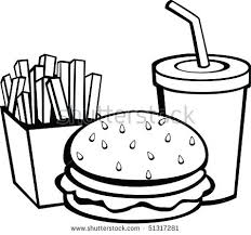 food clipart fast food black and white canned food pictures clip art