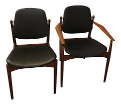 1950s Vintage Arne Vodder Danish Modern Leather Dining Chairs- 8 Chairs Mid Century Danish Modern Teak Upholstered Ding Chairs Set Of 6 By Niels Otto Moller For Jl Mller 1950s How To Re Upholster The Backs Midcentury 1960s 8 Kfoed 4 Vintage Midcentury Style Curved Back Walnut Oak Style Ding Chairs 1970s 88233 Fuchsia Chair Dania Fniture Weber Black Shell Seat Details About 2 Wegner Elbow Midcent Finish Solid Wood Frme Picked Amazoncom Glj Fashion Nordic Designer G Plan Solid Teak New Upholstery Mid Century Modern K Larsen Influenced