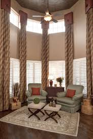 Kitchen Curtain Ideas For Large Windows by Best 25 Tall Window Treatments Ideas On Pinterest Long Curtains
