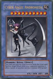 Yugioh Structure Deck List Wiki by Cyber Angel Andromeda Yu Gi Oh Card Maker Wiki Fandom Powered