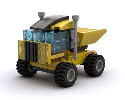 100 Haul Truck LEGO MOC25773 Quick Creator Model Cargo