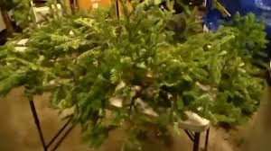 How To Make A Christmas Grave Blanket Using Real Tree