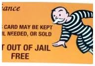 Get Out Jail Free Card Template Example Monopoly Of Best
