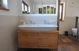 waschbecken unterschrank mit spiegelschrank schreinerei