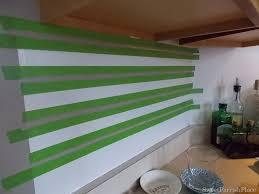 painted subway tile backsplash remodelaholic
