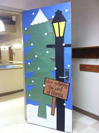 Christmas Classroom Door Decorating Contest by A Teacher U0027s Classroom Door Would Be Brilliant For A Year Long